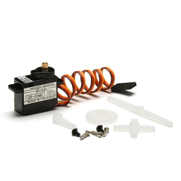 Global Eagle 480N RC Helicopter Part GH-08MG Servo For Throttle