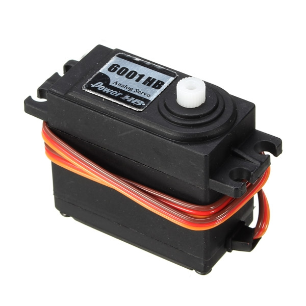 Power HD-6001HB 6.7KG 43g Servo Steering Engine Compatible with Futaba/JR RC Car Part
