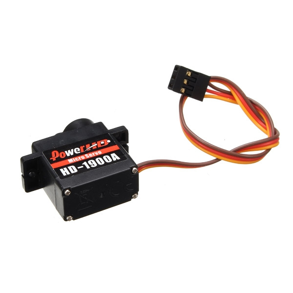 Power HD-1900A 1.5KG 9g Micro Servo Steering Engine Compatible with Futaba/JR RC Car Part