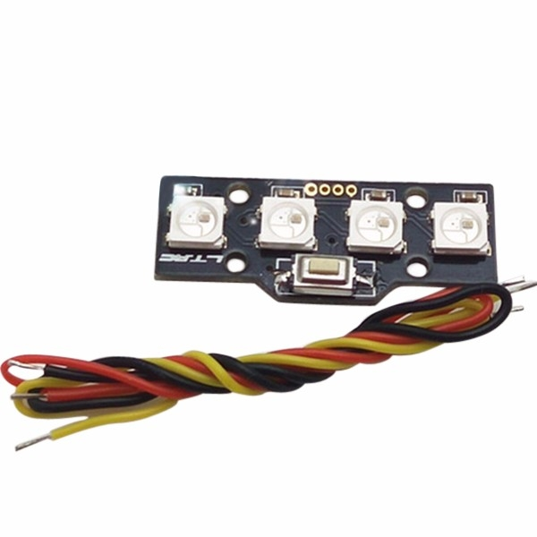 WS2812B RGB5050 4 Bit LED for FPV Naze32 CC3D Flight Controller Build-in Colorful Driver