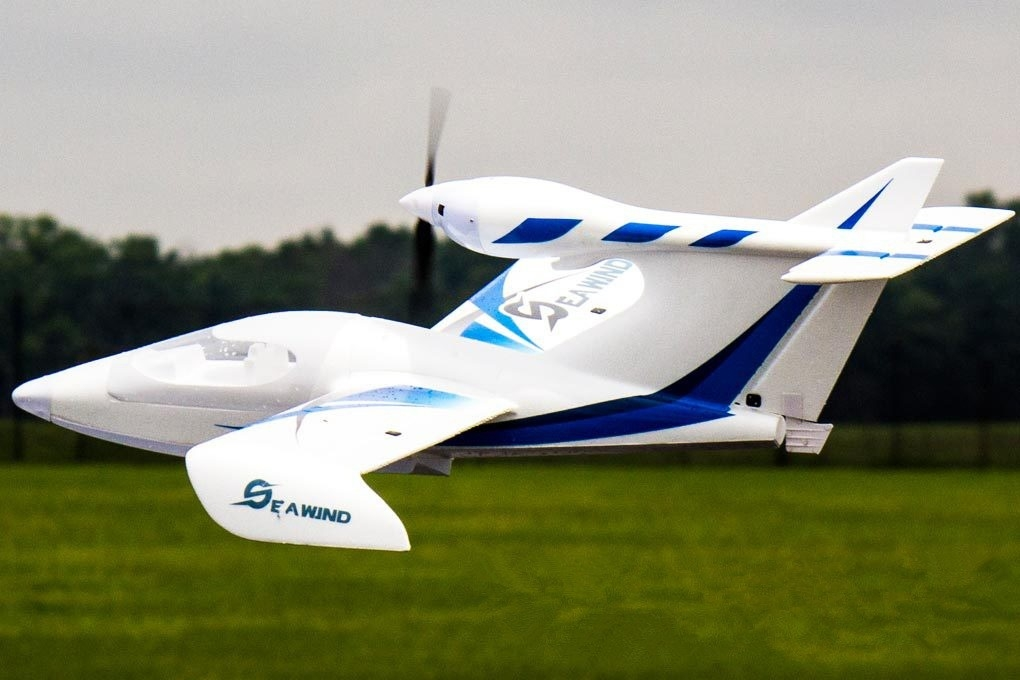 Dynam Seawind Blue 1220mm 48inch Wingspan RC Seaplane PNP
