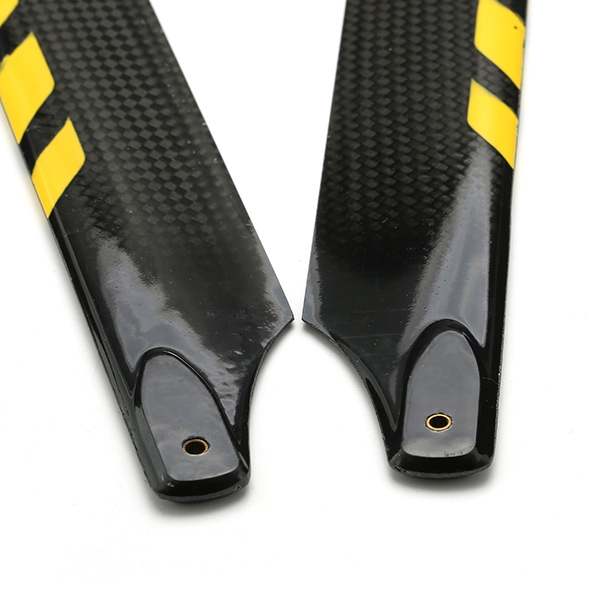 Dynam 325mm Carbon Fiber Main Blade for Electric 450 Helicopter