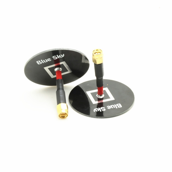 Lantian 5.8G 5DB High Gain Mini Flat TX RX Antenna SMA-Male RM-SMA Male  One PC