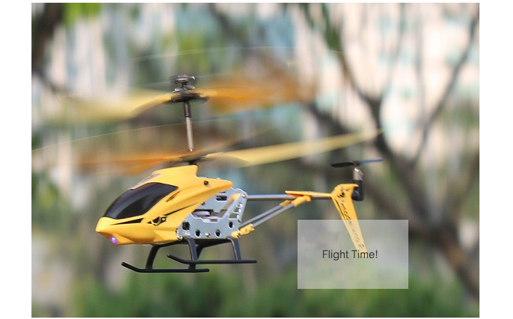 Model King 3.5CH Alloy Mini Remote Control RC Helicopter With Gyro Mode 2
