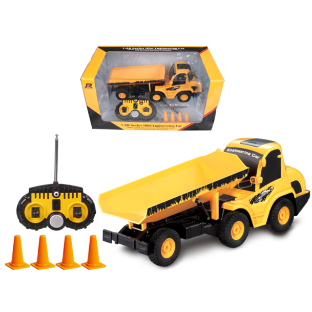MINI RC Toy QINGYI 1:20 5CH RC Dumper Truck QY0105 MINI Truck