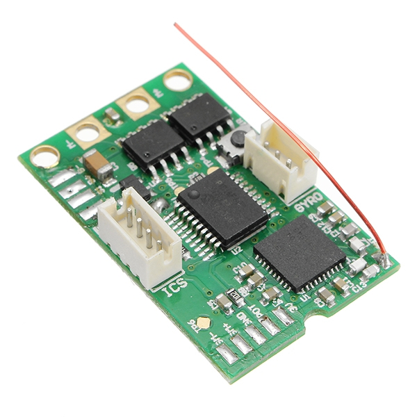 DasMikro 2.4G KYOSHO ASF Compatible Mainboard For Micro Racing Cars