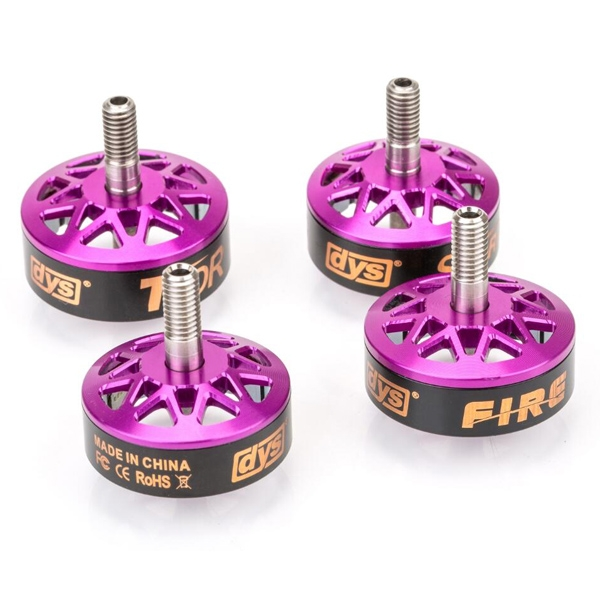 DYS Bell Pack for Fire Storm Mars Thor FPV Racing Brushless Motor CW Screw Thread
