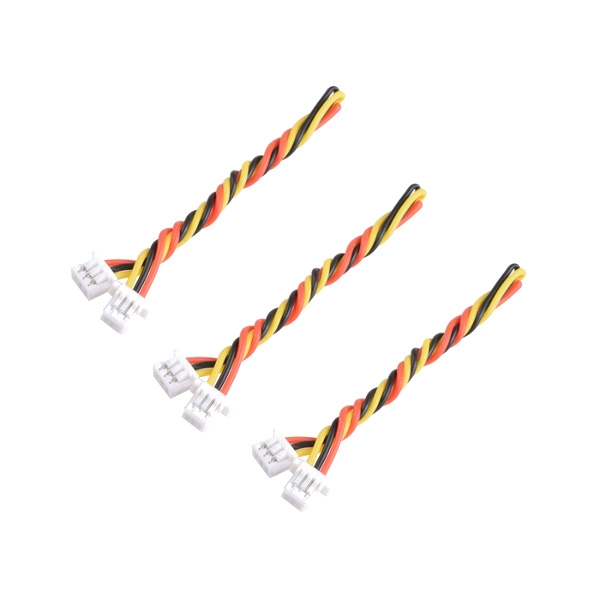 1.25mm 3pin to 1.0mm 3pin FPV silicone cable for RunCam Micro Swift Micro Swift 2
