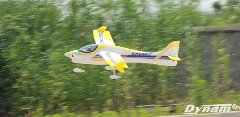Dynam Smart Trainer 1500mm Wingspan EPO Aerobatic RC Airplane PNP DY8962