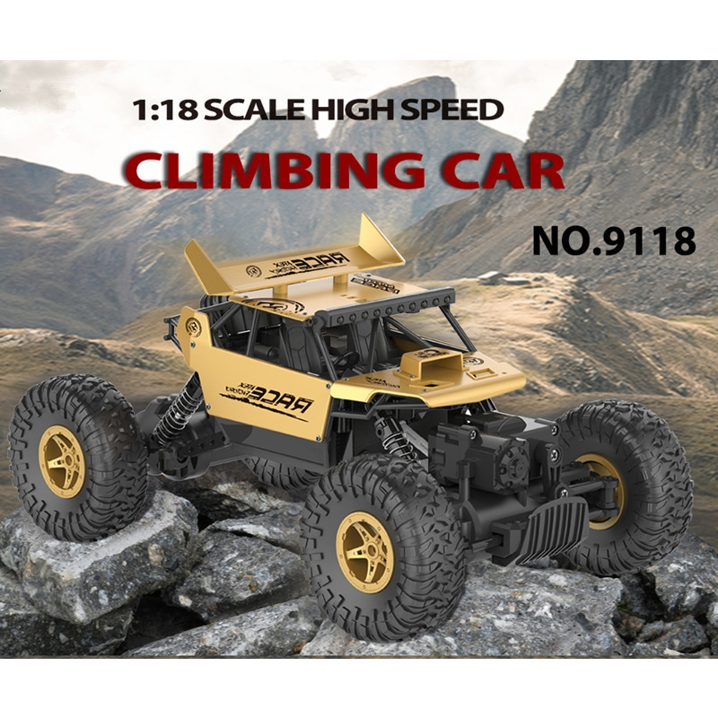 Flytec 9118 1/18 2.4G  4WD Alloy Off-road RC Climbing Car
