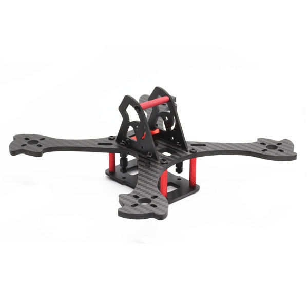 Enslaver 180 180mm Wheelbase 4mm Arm Carbon Fiber Racing Frame Kit