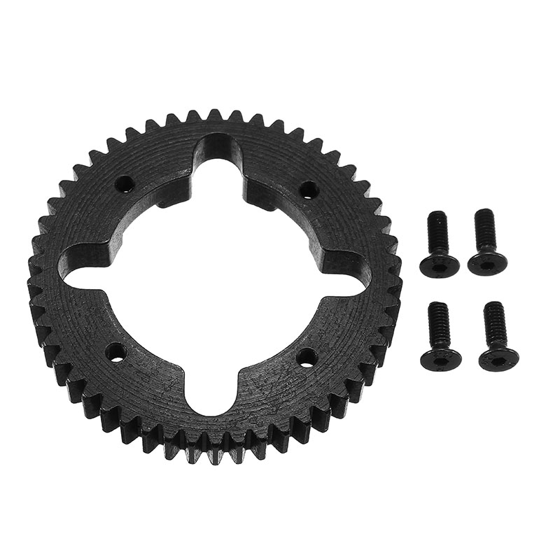 Vkarracing 52T Steel Center Diff Spur Gear  ET1096 RC Car Parts For Truggy Buggy Short Course