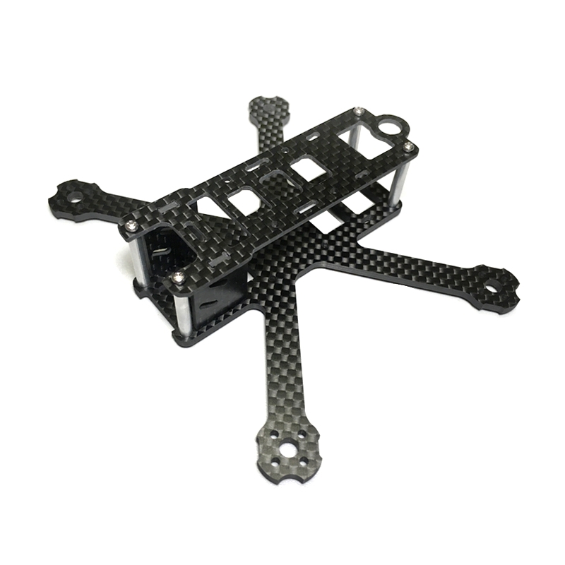 125H 125mm Carbon Fiber Micro FPV Racing Frame 22g Supports 1106 Brushless Motor
