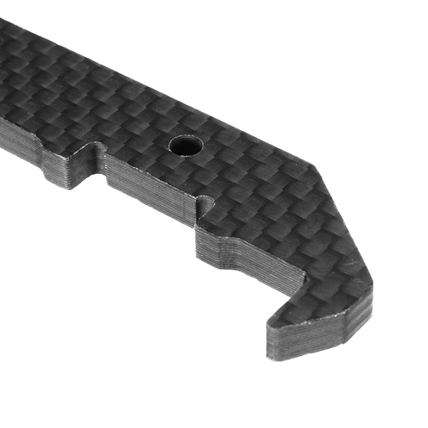 Realacc Real1 FPV Racing Frame Spare Parts 4mm Carbon Fiber Vertical Arm Plate