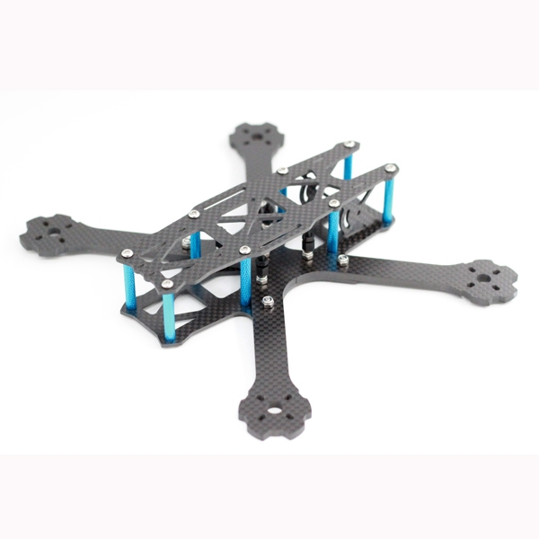 A-max Forerunner 220mm Wheelbase 4mm Arm Carbon Fiber FPV Racing Frame Kit 113g
