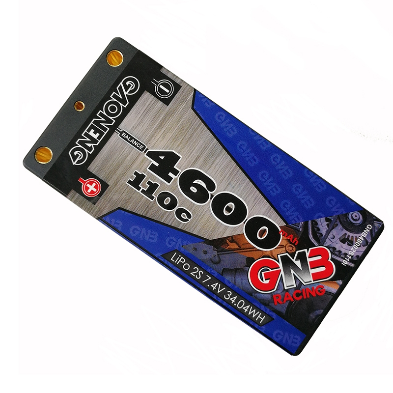 Gaoneng GNB 7.4V 4600MAH 2S 110C Lipo battery T Plug For RC Car