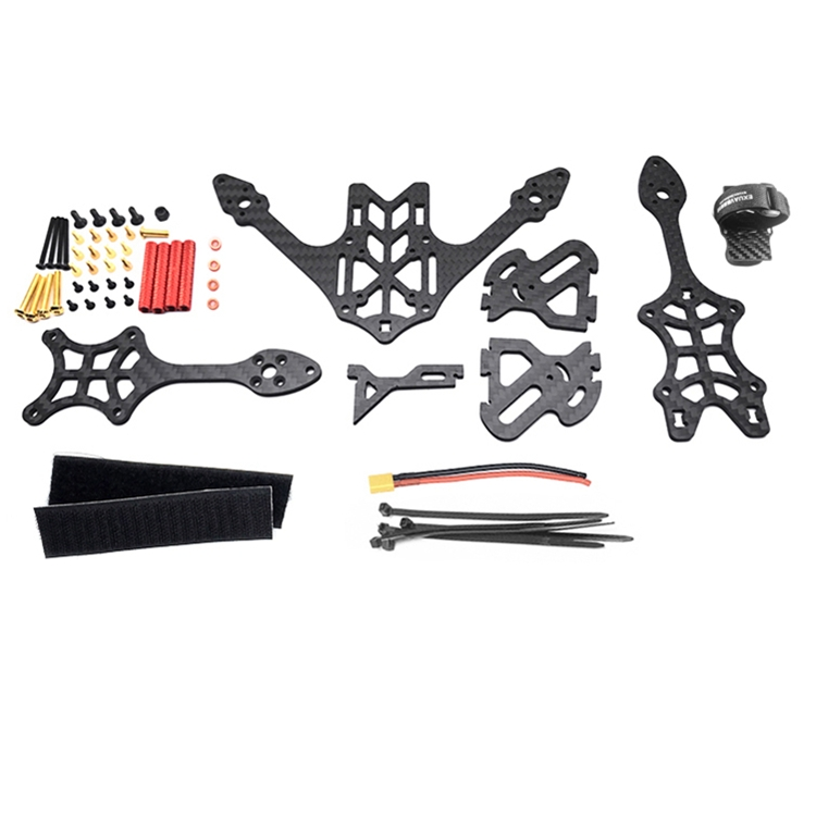 EXUAV Y120S 120mm Mini FPV Racing RC Drone Frame Kit Support Runcam Split Camera Carbon Fiber