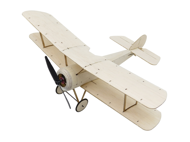 Sopwith Pup Brushless Version Balsa Wood 378mm Wingspan Biplane Warbird RC Aircraft
