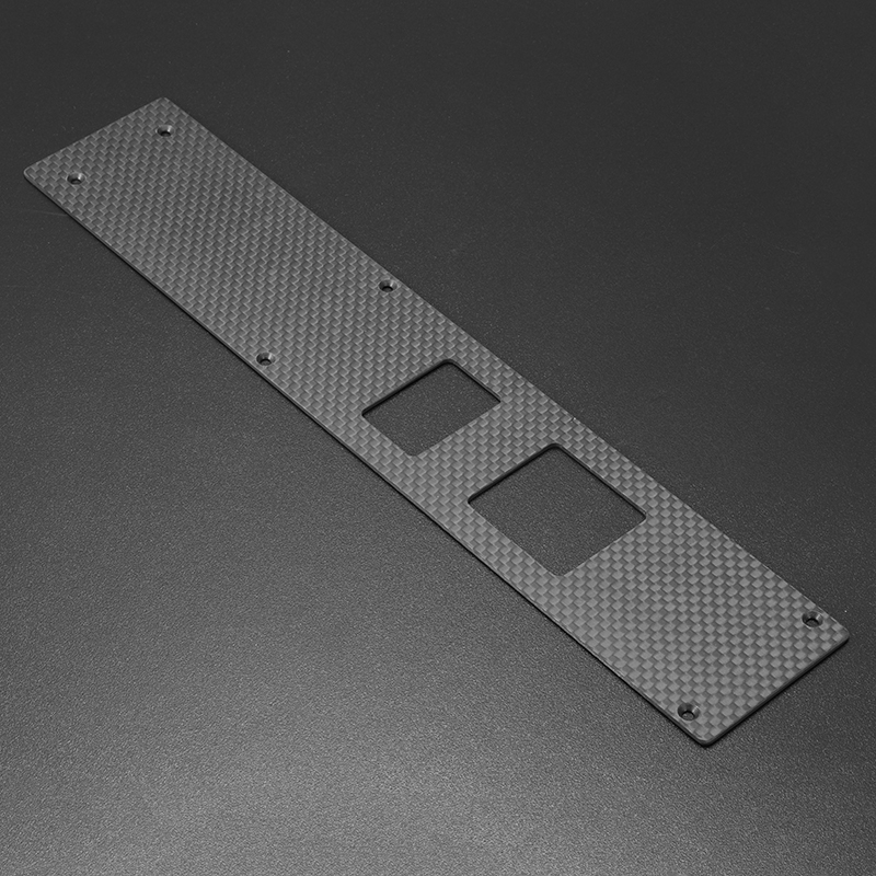 XLPOWER 520 RC Helicopter Parts Carbon Bottom Plate