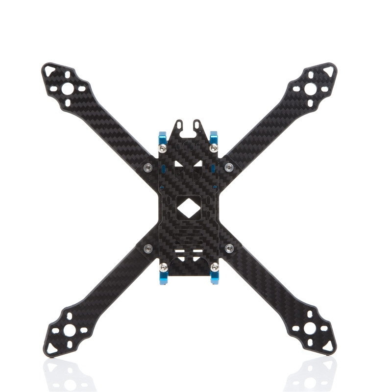 Skyzone S210 210mm True X 4mm Arm Thickness Frame Kit 3K Carbon Fiber for RC FPV Racing Drone