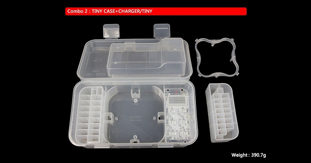 Accessories Storage Box with TINY Charger