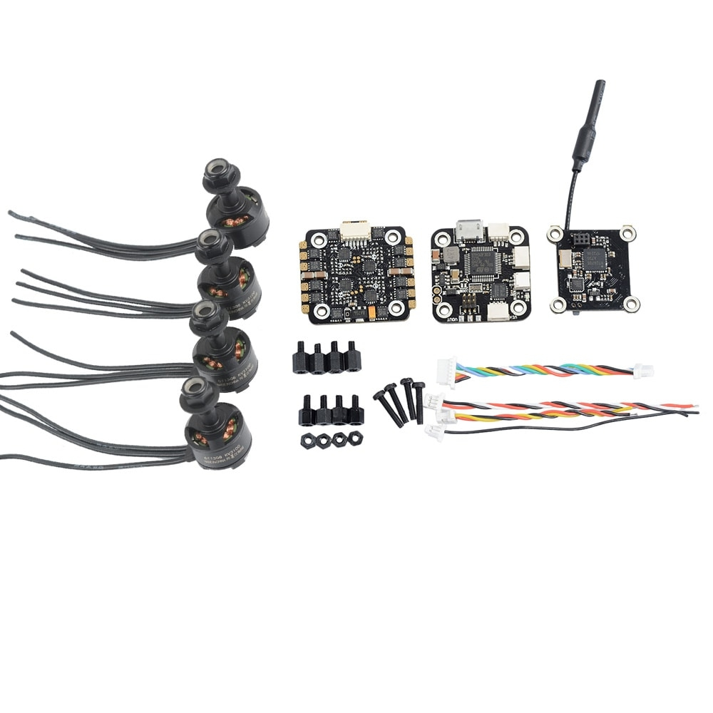SKYSTARS 1306 Brushless Motor + F3 Flight Controller + 20A ESC + Ttransmitter