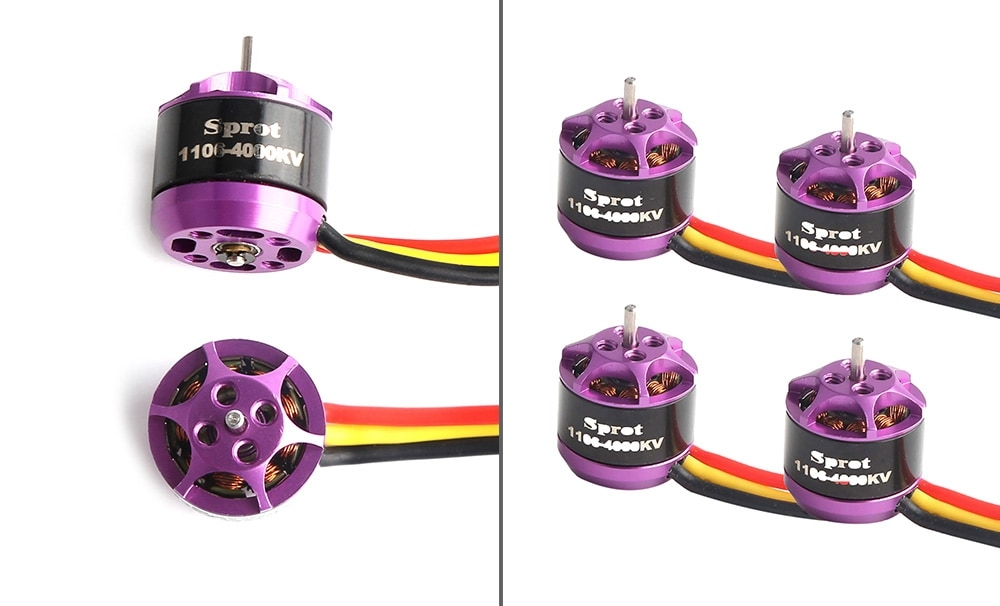 BE1104 4000KV Micro Brushless Motor 4pcs