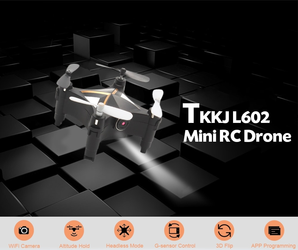TKKJ L602 RC Drone FPV 0 3MP Camera / Optical Flow - Price