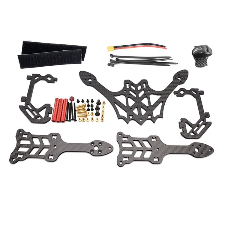 EXUAV Y120S 120mm Mini FPV Racing RC Drone Frame Kit Support Runcam Micro Swift Micro Sparrow