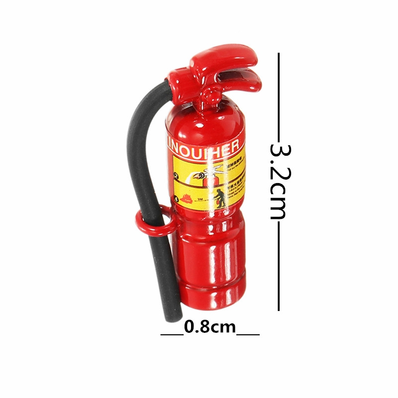 1:10 RC Car Parts Extinguisher Model RC Car Decoration Toys