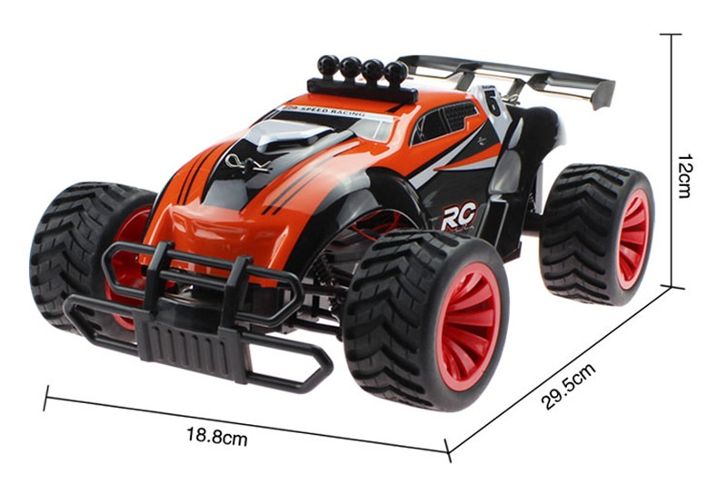 BG1505 2.4G 1/16 4WD High Speed RC Car Drift Off-Road Racing Truck With Light Toys Random Color