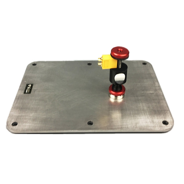RC Drone Part EP601 185x135mm Stainless Steel Base Platform for Soldering PCB PDB Flight Controller