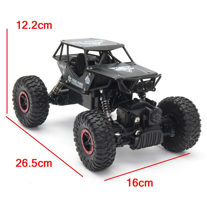 Xiangdijia 69991 Black Color 1/18 2.4G 4WD High Speed RC Racing Car Drift Climbing Toys