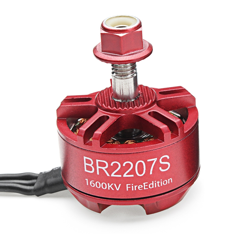 4X Racerstar 2207 BR2207S Fire Edition 1600KV 3-6S Brushless Motor For RC Drone FPV Racing Frame Kit