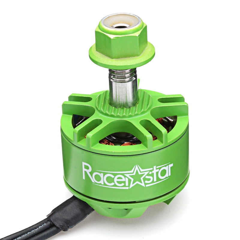4X Racerstar 1707 BR1707S Green Edition 3700KV 2-3S Brushless Motor For RC Drone FPV Racing Frame - Photo: 1