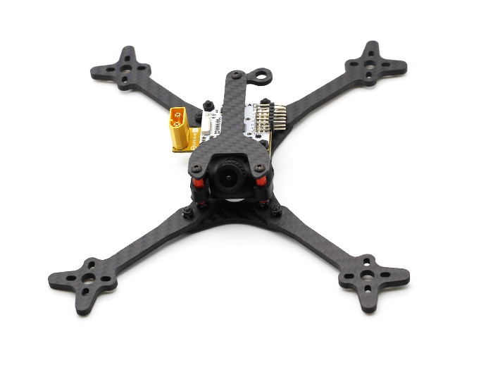 HSKRC Foss 210 210mm Wheelbase 4mm Arm 3K Carbon Fiber 5 Inch FPV Racing Frame Kit for RC Drone