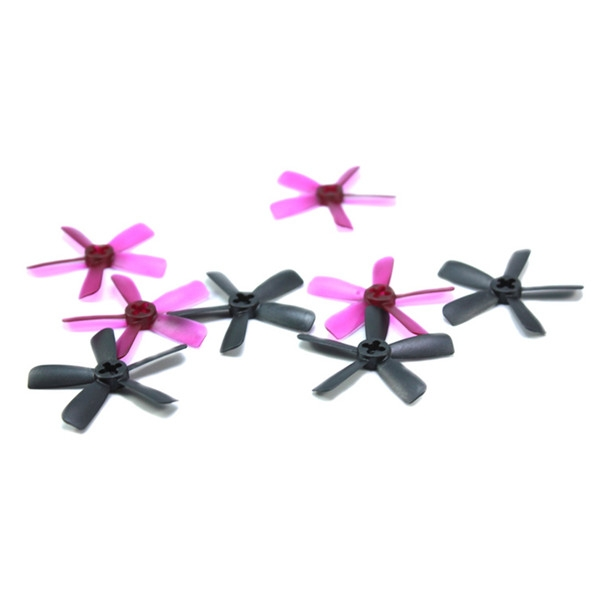 4 Pairs LX2038 2.0 Inch 50mm 5-blade Propeller 1.5mm Mounting Hole for RC Drone 1103 1105 1106 Motor