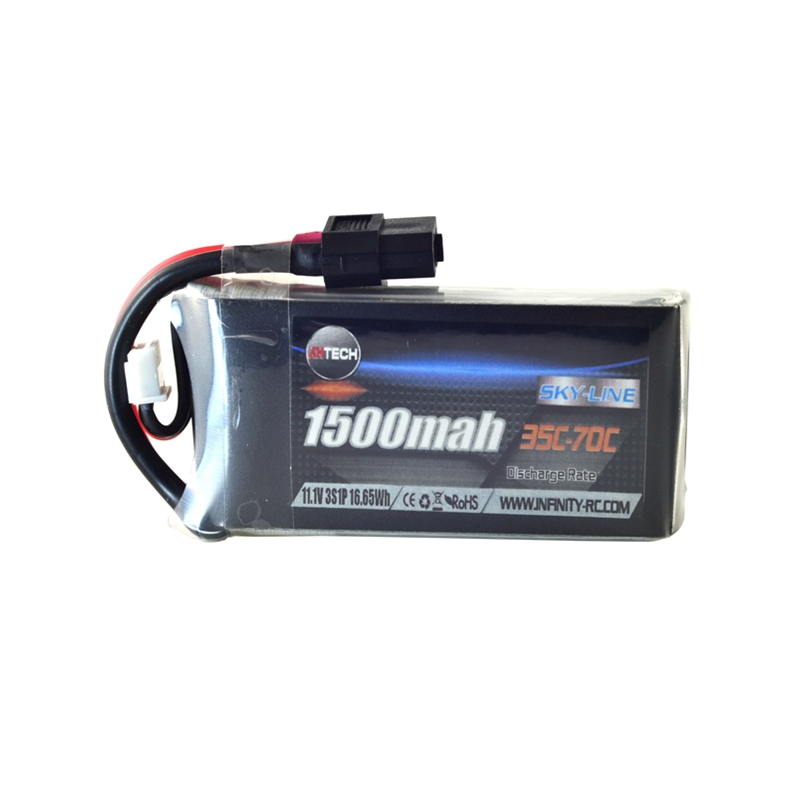 AHTECH 3S 11.1V 1500mAh 35C Lipo Battery XT60 Connector For RC Drone FPV Racing Multi Rotor