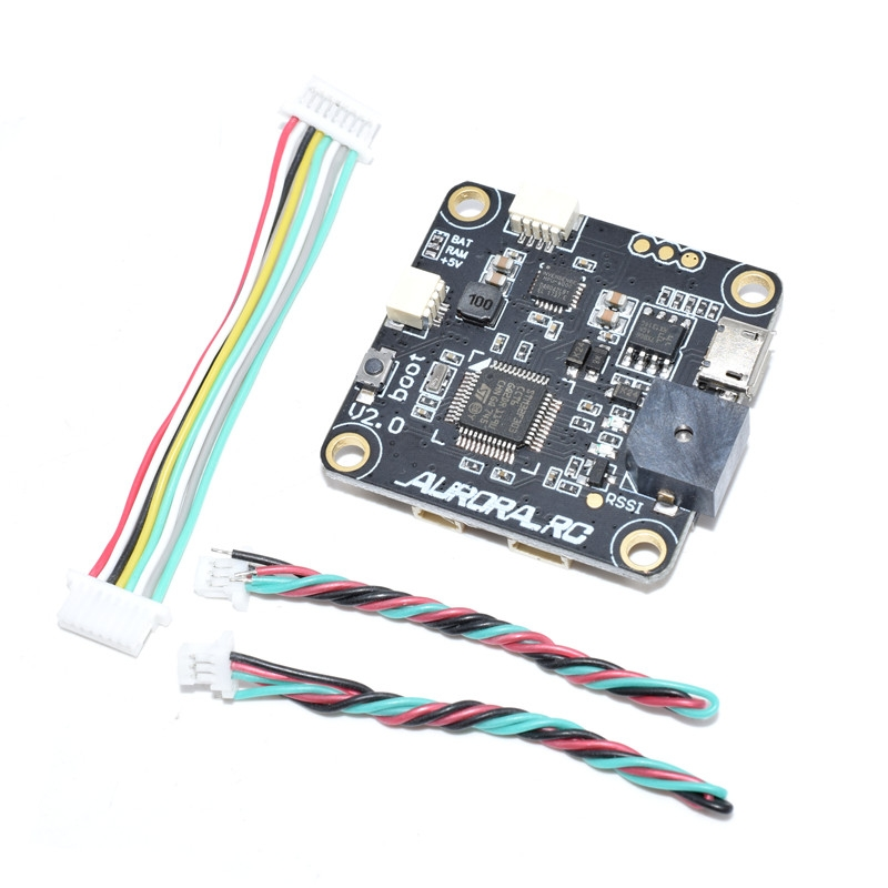 AuroraRC 30.5*30.5mm AR-F3PRO Flight Controller Built-in OSD 5V/3A BEC for FPV RC Drone