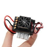 Flycolor A-CW080003-A1A1 120A Partial Waterproof Brushless ESC For 1/10 Buggy Crawler RC Car