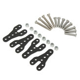 Aluminum Black Shock Absorber Kit For Axial SCX10 Honcho Dingo 1/10 RC Crawler