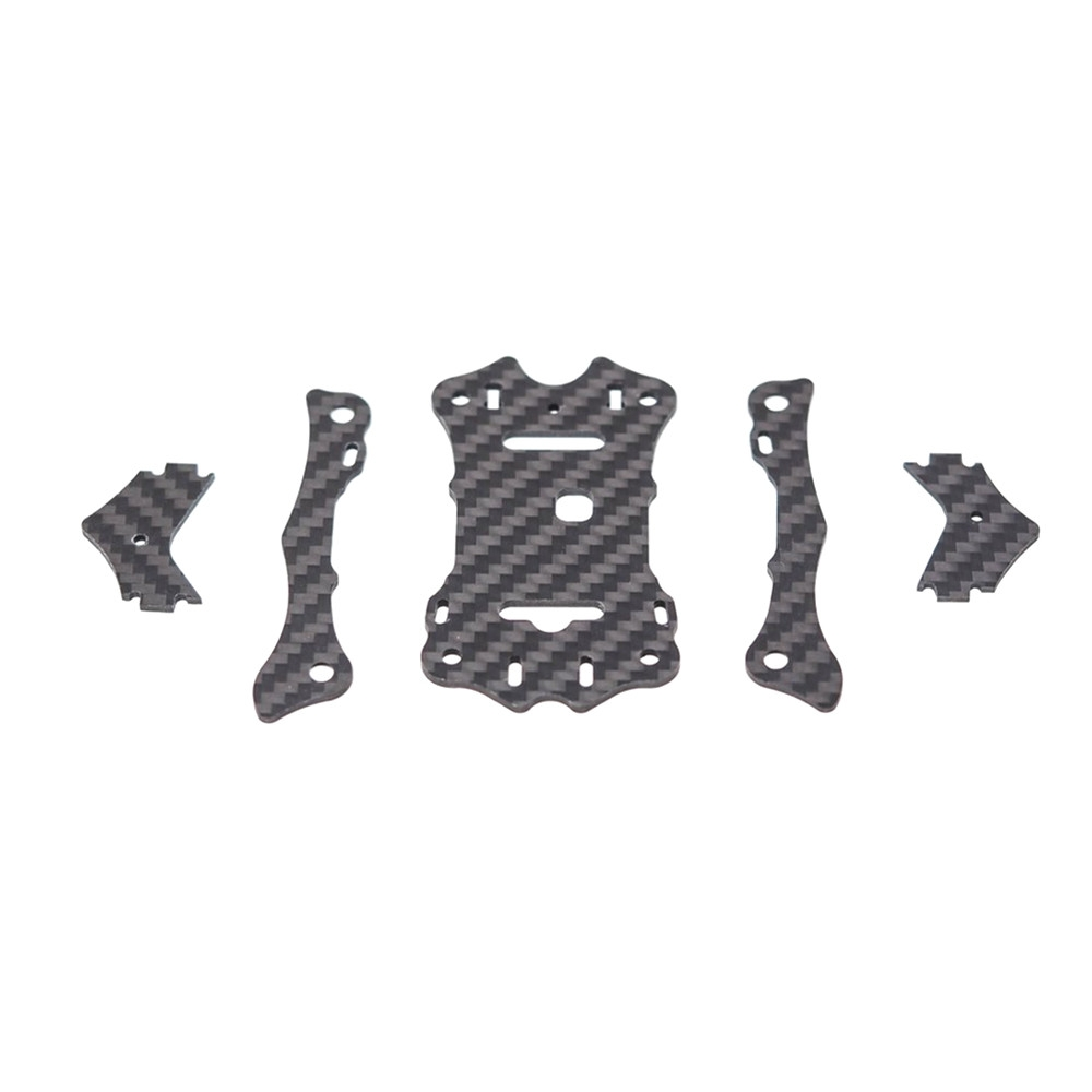 EMAX Hawk 5 RC Drone Spare Parts Top Carbon Plate x1 + Support Rail x2 + Camera Plate x2