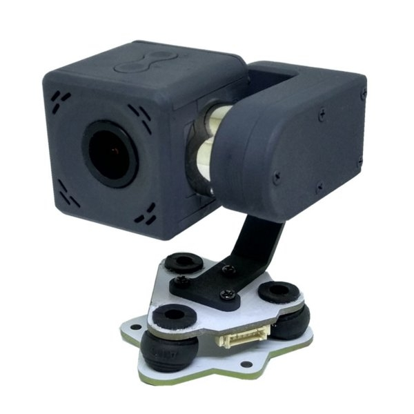 Arkbird 2-Axis Mini Gimbal FPV Camera W/ HD 2K Resolution PWM Control Pitch Shooter For RC Airplane