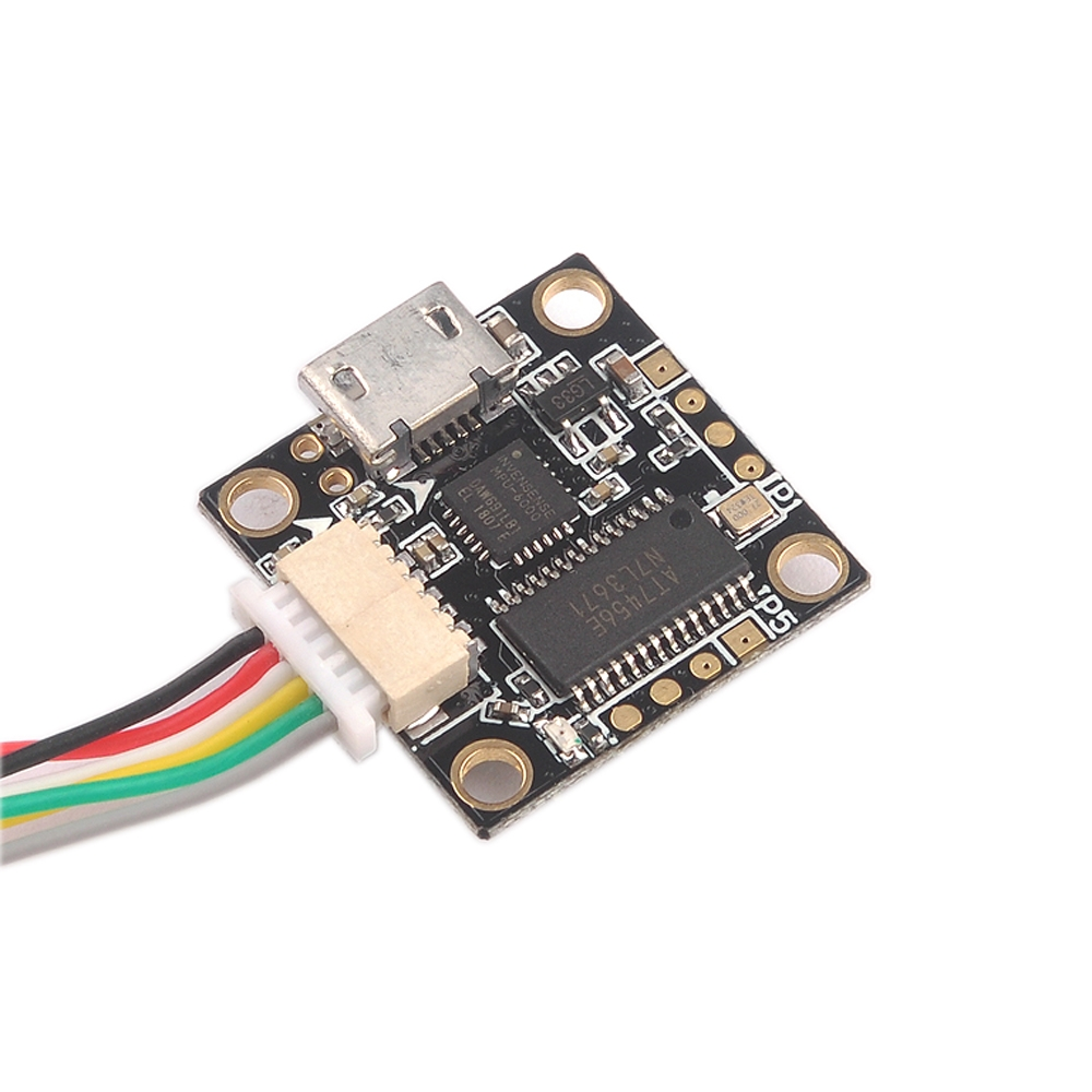 TeenyF3 Pro Micro Omnibus F3 Flight Controller 1-2S Built In OSD Buck-Boost Converter 16x16mm