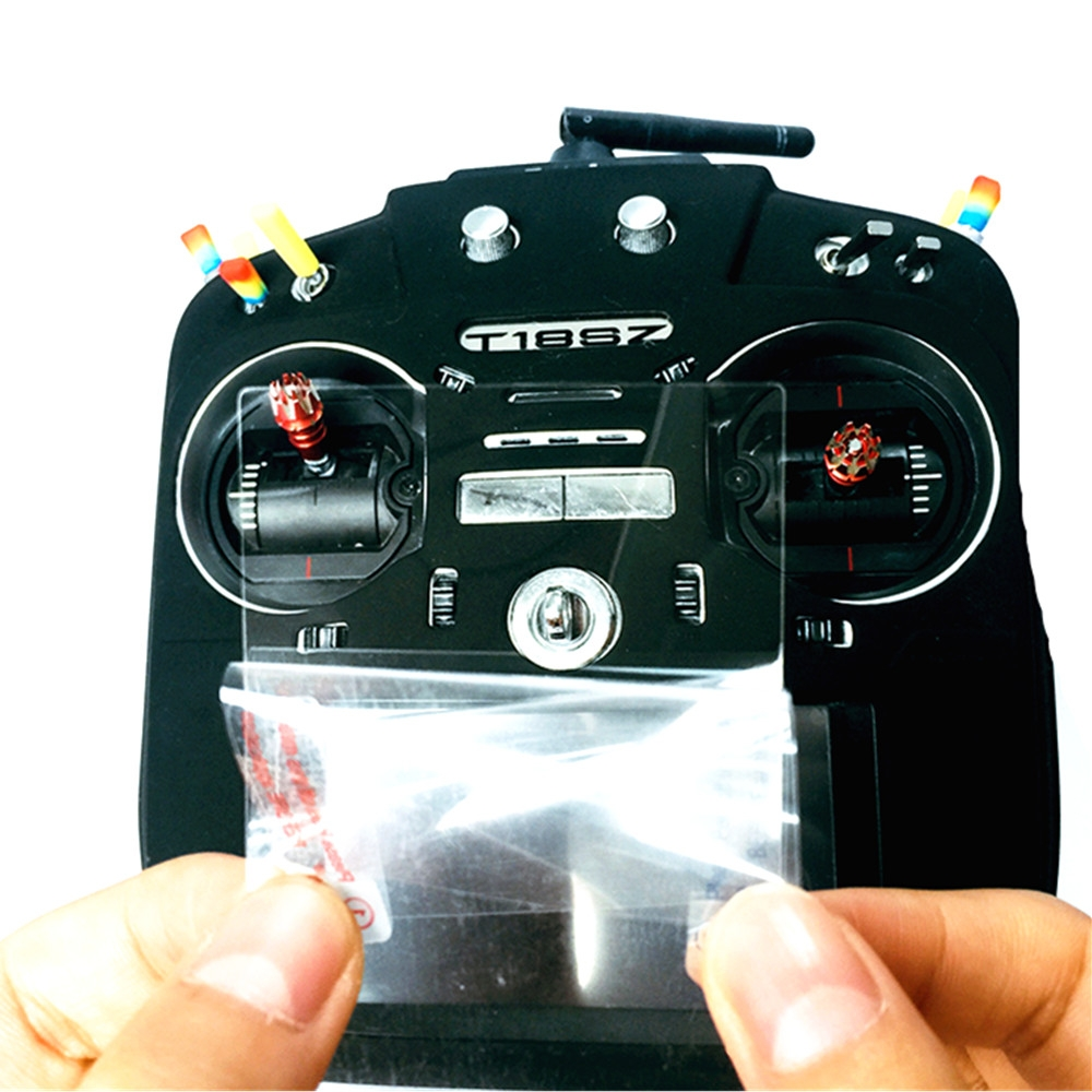 RC Drone Transmitter Screen Protector Film for Futaba 18SZ 16SZ 14SG