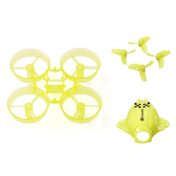 Eachine QX65 RC Drone Quadcopter Spare Parts Frame Kit Blade Canopy Sets