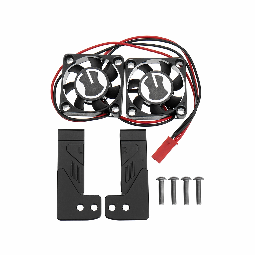 Intake SEC Cooling Air Grille Simulation Fan Kit For 1/10 TRX4 RC Car Parts