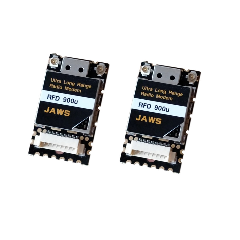 A Pair 10KM Ultra Long Range RF900Mini 915MHz RFD 900U 3DR Radio Telemetry Modem Module For RC Drone