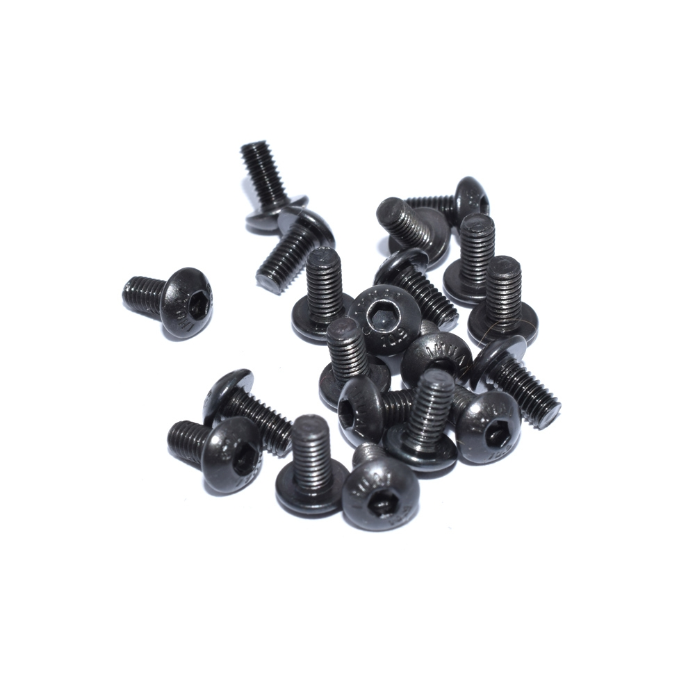 20 PCS AuroraRC M3 Half-round Head Screw M3*6 M3*8 M3*12 For RC Drone FPV Racing Multi Rotor
