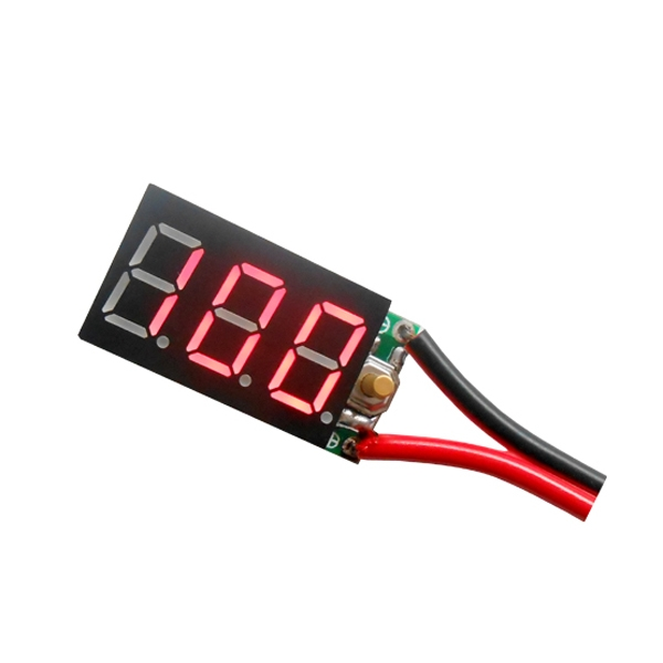 2PCS 3S 12V Pb Lipo Battery Tester Instruments And Ni-MH Battery Digital Display